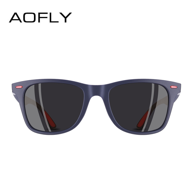 AOFLY BRAND DESIGN New 2018 Classic Polarized Sunglasses Men Driving TR90 Frame Sun Glasses Male Goggles UV400 Gafas AF8083 2