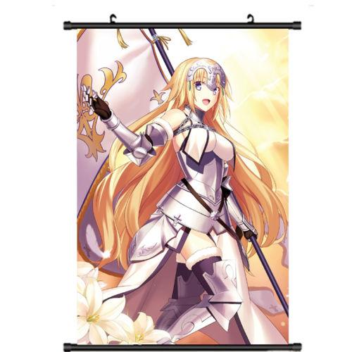 Fate Grand Order FGO Jeanne d/'arc Wall Scroll Poster Home Decor Art Gift 60*90cm
