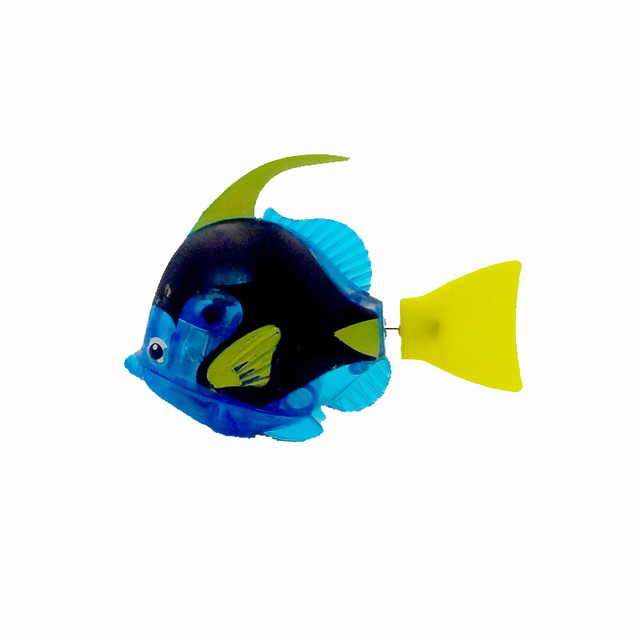 Battery Powered Robo Fish 4 pcs Set