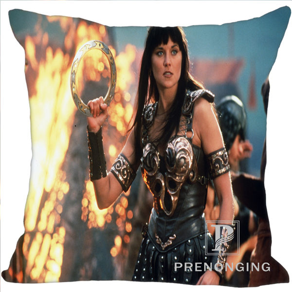 Custom Pillowcase Cover Xena Warrior Princess Square Zipper Pillow Cover Print Your Pictures (one Side)180117#50