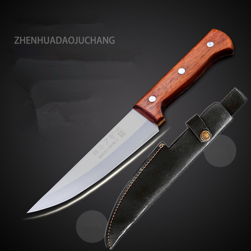 5Cr15Mov Stainless Steel Professional Boning Meat Knife Kill Pig Sheep Cattle Knives Slaughtering Bleeding Tool Butcher Knife|Kitchen Knives| |  -