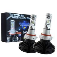 2Pcs H4 LED H7 H11 H8 9006 HB4 H1 H3 HB3 H9 H27 Car Headlight Bulbs