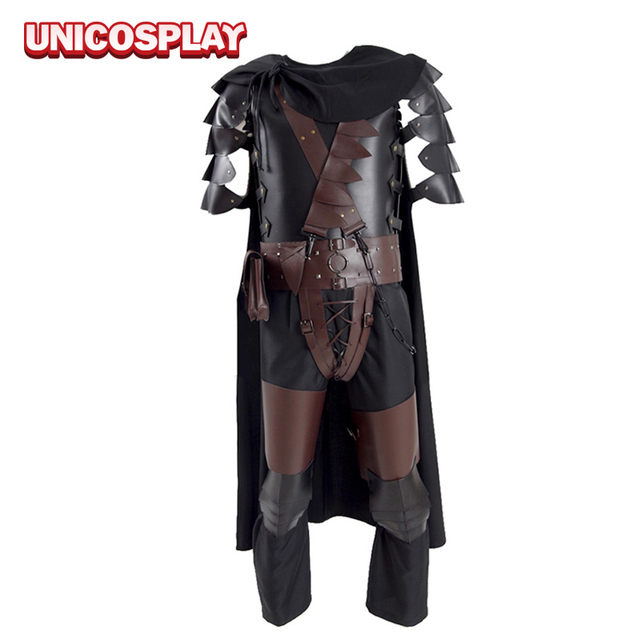 Berserk Guts Armor Cosplay Costume Halloween Battle Suit