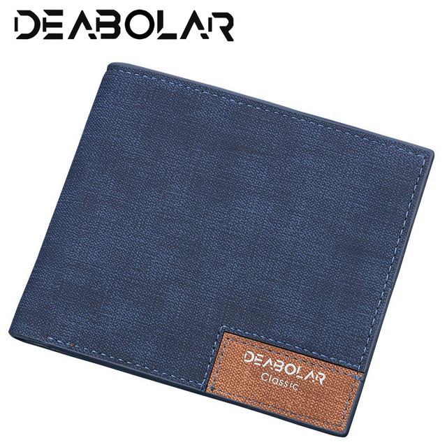 Men's Korean Fashion Vintage High Top Quality PU Leather Wallet Youth Slim Cross Section Holder Purses Wallet Small Money Bag