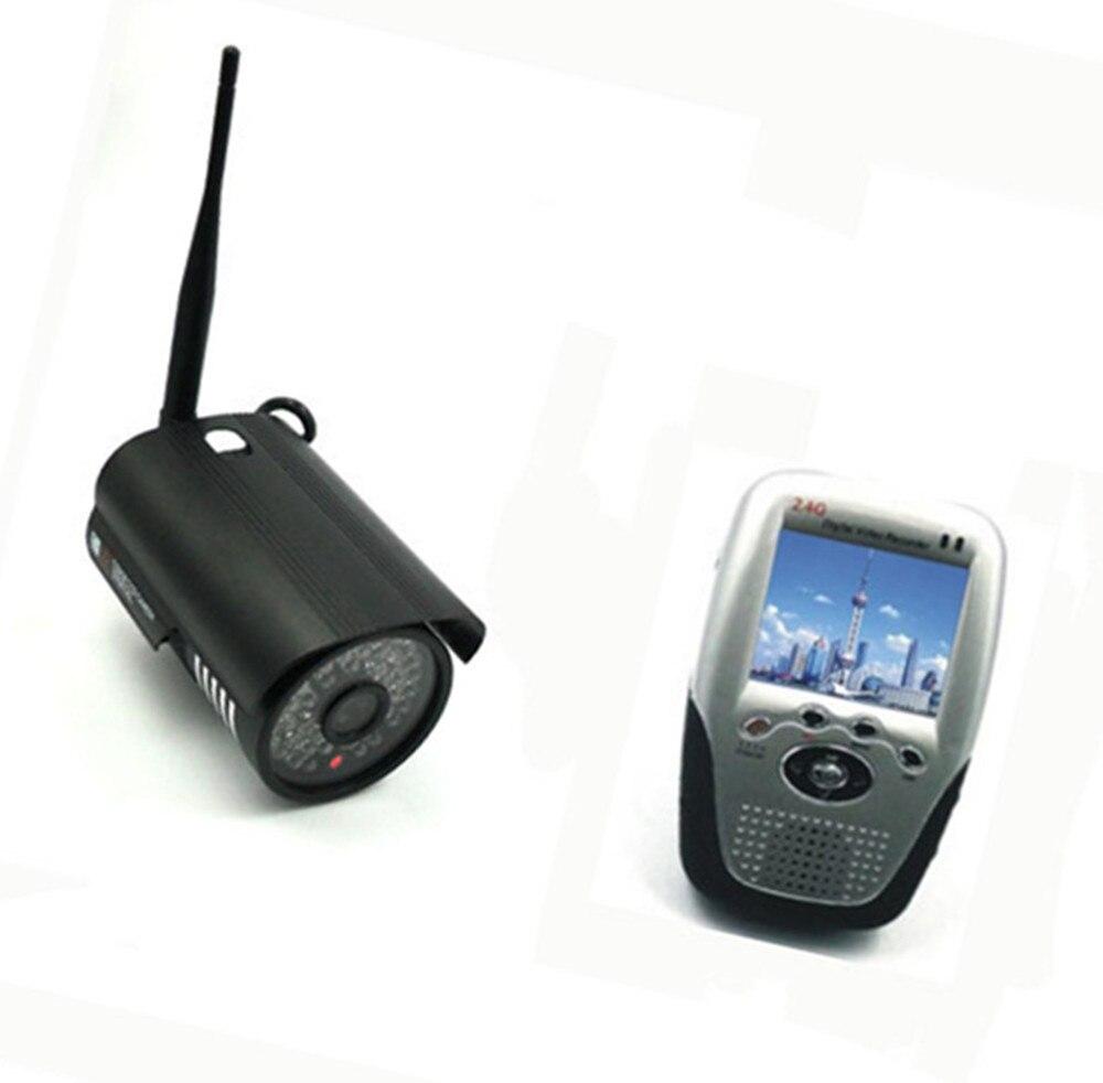 IR Night Vision 2.4Ghz Wireless Baby Monitor Rain-Proof Baby Camera
