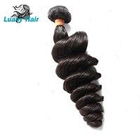 Luasy Hair Brazilian Hair Weave Bundles 10 28inch Loose Wave Brazilian Virgin Hair 1/3/4 Bundles Deals 100% Human Hair Weave