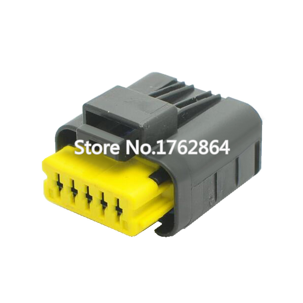 Waterproof connector China 5Pin connector with terminal DJ7057A 1 5 21 5P in Connectors from Lights Lighting