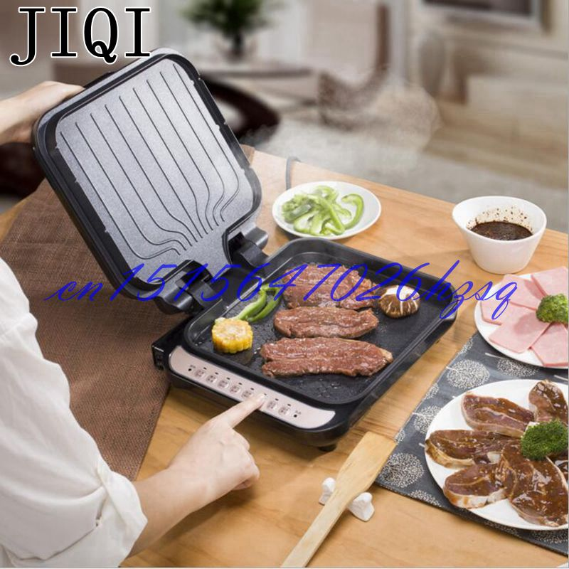 JIQI 1300W Household  Electric Skillet Multi functionbaking double pan heating machine Pancake makers Hover
