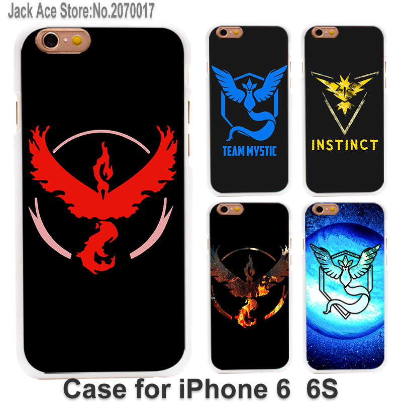 Team Valor Black Red logo (1) case cover for Apple iPhone SE 4/4s 5/5s 5c 6/6s 6Plus/6sPlus plastic white case