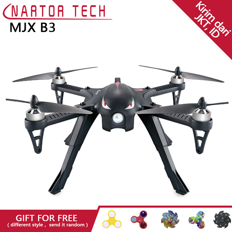 MJX Bugs 3 B3 RC Quadcopter Brushless Motor 2.4G 6-Axis Gyro Drone Professional Drone Helicopter mjx bugs 3 b3 rc quadcopter brushless motor 2 4g 6 axis gyro drone with h9r 4k camera professional drone helicopter black