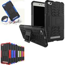 For Xiaomi redmi hongmi 4A Case Tough Impact Heavy Duty Armor Hybrid Anti-knock Silicone Back Cover for