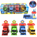 42set/lot 2016 Scale model tayo the little bus children miniature bus plastic baby oyuncak garage tayo bus car kids toys gift