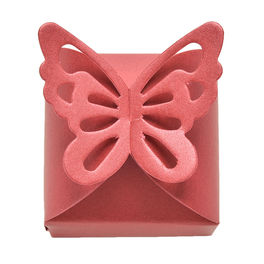 10 Pcs Hot DIY Party Wedding Butterfly Candy Box Paper Favors Gifts Boxes For Baby Shower Wedding Candy Box Decoration