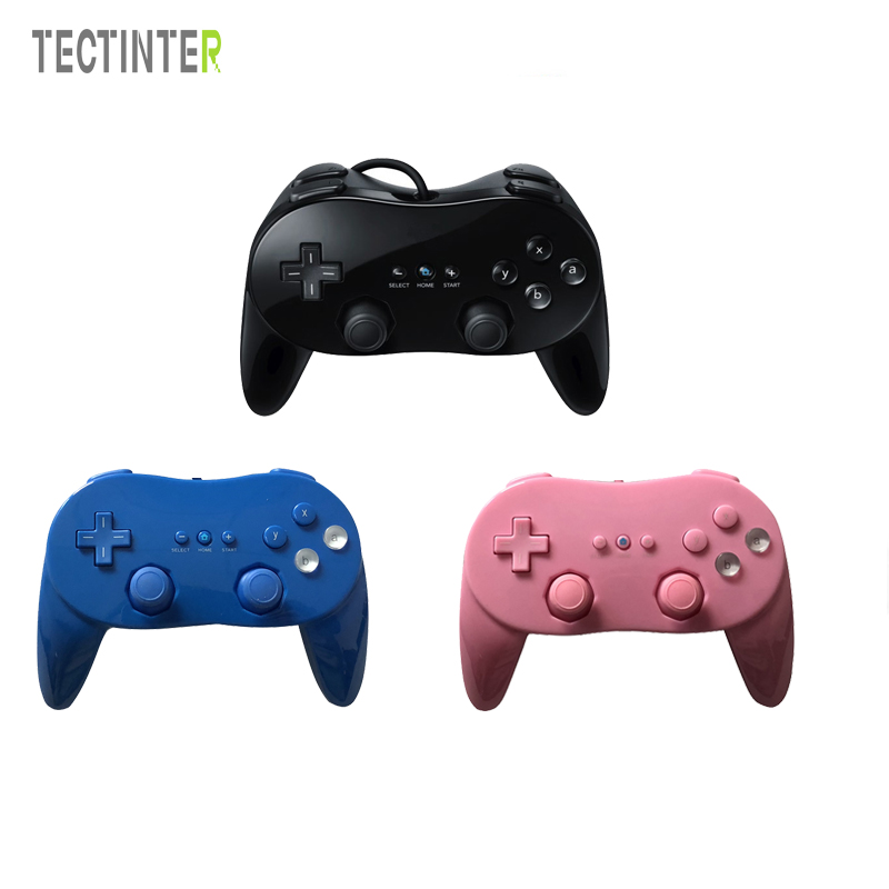 Classic Dual Analog Wired Game Controller Pro For Nintend Remote Double Shock Game Controller Gamepad For Wii Controle