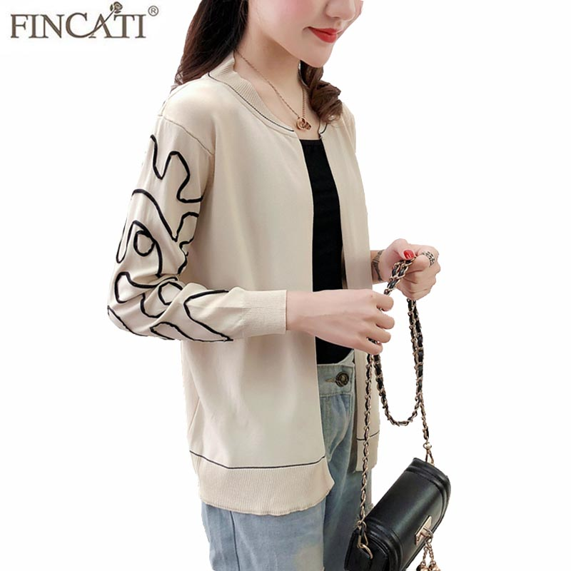 Cardigan Women 2018 Spring Summer Linen Knitted Open Stitch Sun-Protective Thin Floral Embriodery Shirt Outwear Clothes