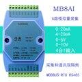4-20ма 0-5 В 0-10 В 0-20ма аналоговый вход приобретение модуль RS485 MODBUS RTU