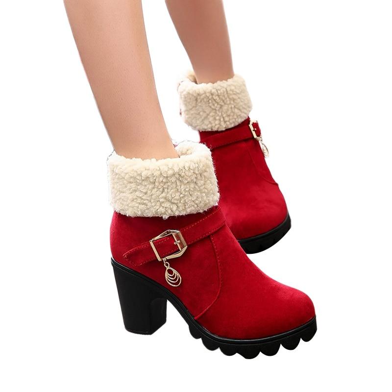 Zapatos 2018 Alta De Europeos Cordones 3 Botas Otoño Invierno Con Moda 1 Nuevo 2 Calidad Mujer Cuero Sólido rxnrU1q