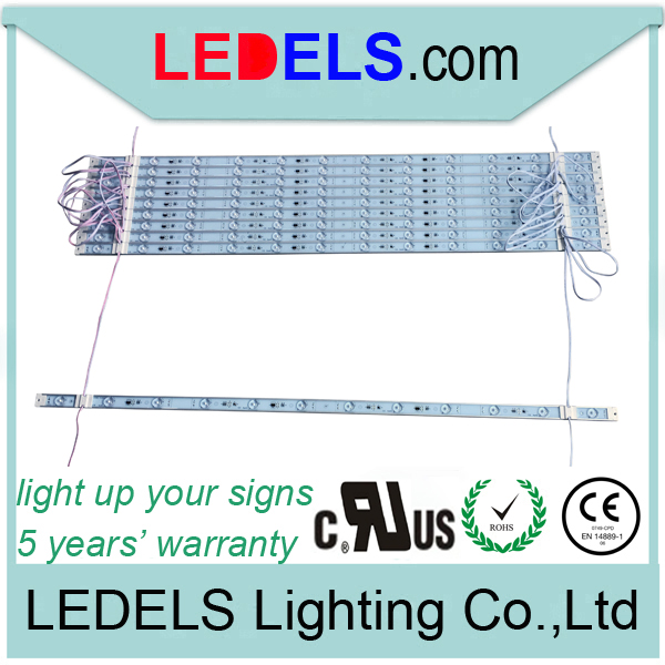 Cost effective 24V 14.4w 1440 lm 92cm Nichia LED light bar for slim light box signage