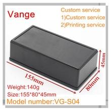 1pcs/lot enclosure plastic case electronics IP54 ABS diy plastic box 155*80*45mm for PCB(China (Mainland))