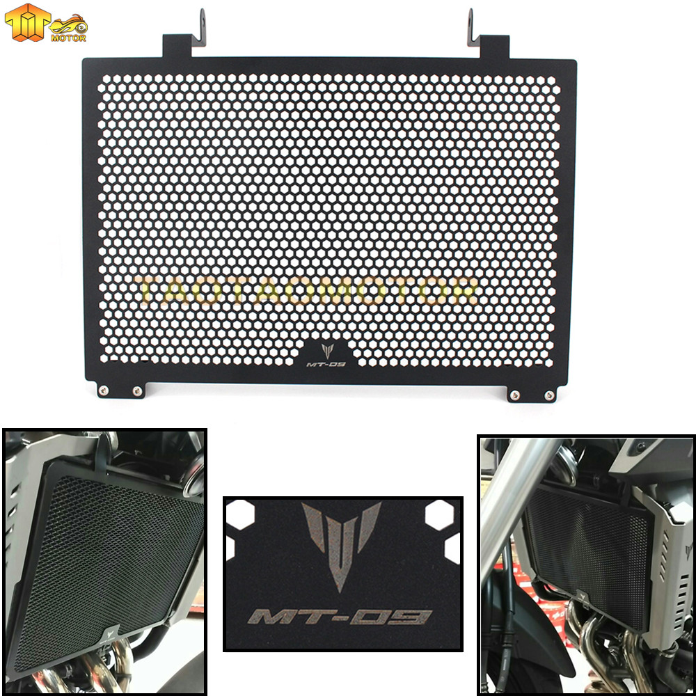 MT09 FZ09 Radiator Guard Grill Grille Cover for YAMAHA MT-09 FZ-09 MT FZ 09 2009-2016 MT09 High Quality Aluminum Гриль
