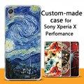 Para o caso sony xperia x performance, feito por encomenda pintado dos desenhos animados 3D de volta caso capa para Sony X caso de Desempenho Personalizado