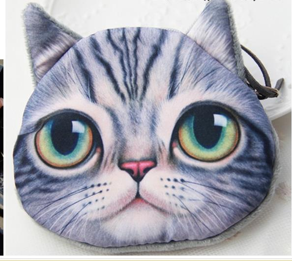outdoor children playing bag Cat coin purse cute purse children wallet kids wallet kawaii bag coin