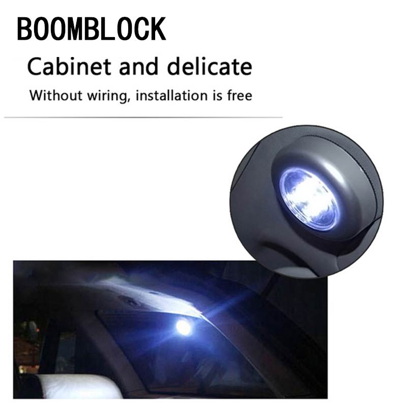 BOOMBLOCK Reading Lamp Decoration for <font><b>Audi</b></font> <font><b>A4</b></font> B6 B8 VW Passat B5 <font><b>B7</b></font> Skoda Octavia A7 A5 Renault Megane 2 3 Ford Interior <font><b>Grille</b></font> image