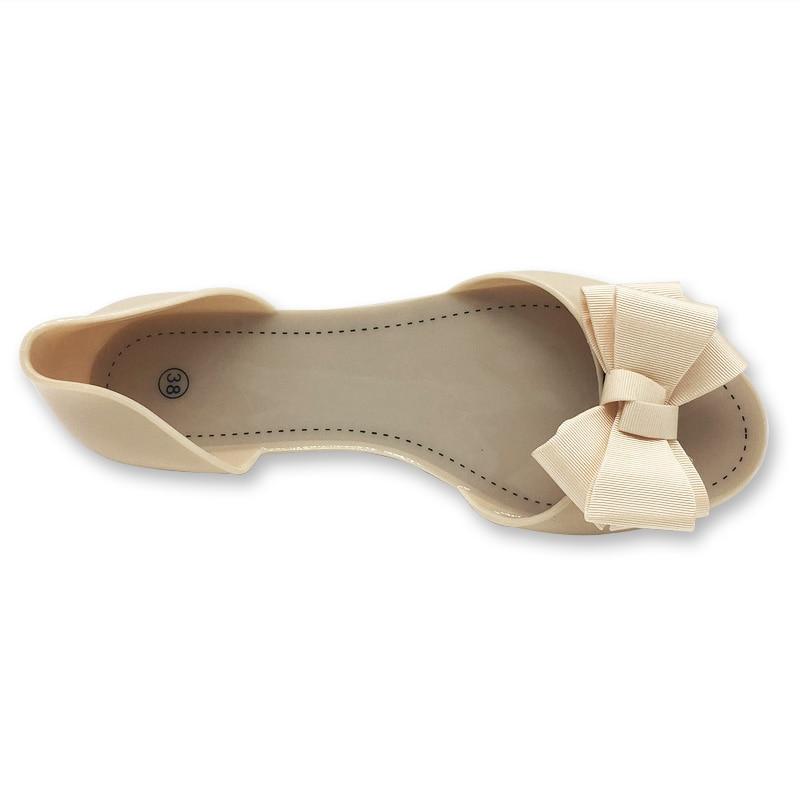 Women Flat Sandals Beach Jelly Shoes Woman Summer Bowtie Outdoor Slippers Slip On Sandalias Women Shoes Women Flat Sandals Beach Jelly Shoes Woman Summer Bowtie Outdoor Slippers Slip On Sandalias Women Shoes Big Size 35-40 WSH2336