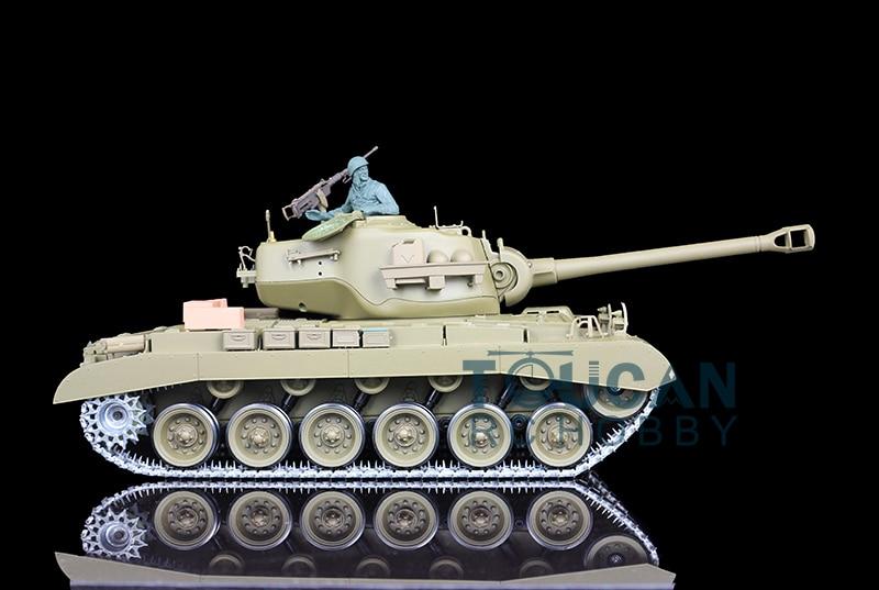 HengLong 1/16 Scale USA M26 Pershing RTR RC Tank Model Upgraded Metal Ver 3838 parmigiani pershing pfc528 3402500 xa3142