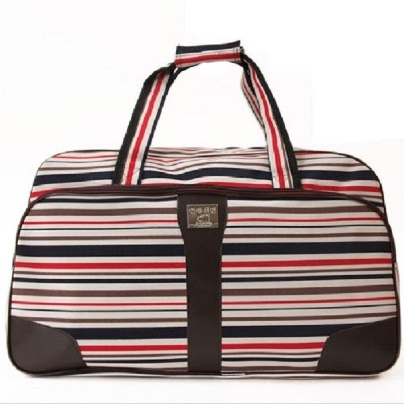 Мода нейлон водонепроницаемый багаж сумки женщины