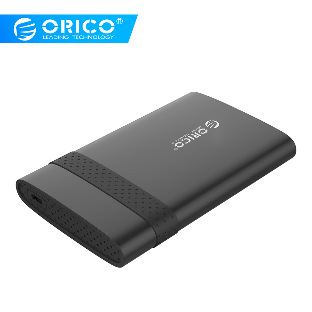 ORICO  2.5 Inch HDD Case USB3.0/Type-C SSD Enclosure Mobile Hard Disk Box USB3.0 Notebook Free Tools HDD Enclosure For SSD/HDD