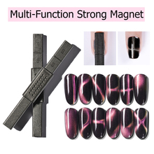 MIZHSE Cat Eyes Gel 12 Styles Strong Magnetic Nail Stick 3D Eye Effect Magnet for UV Soak Off Art Lacquer