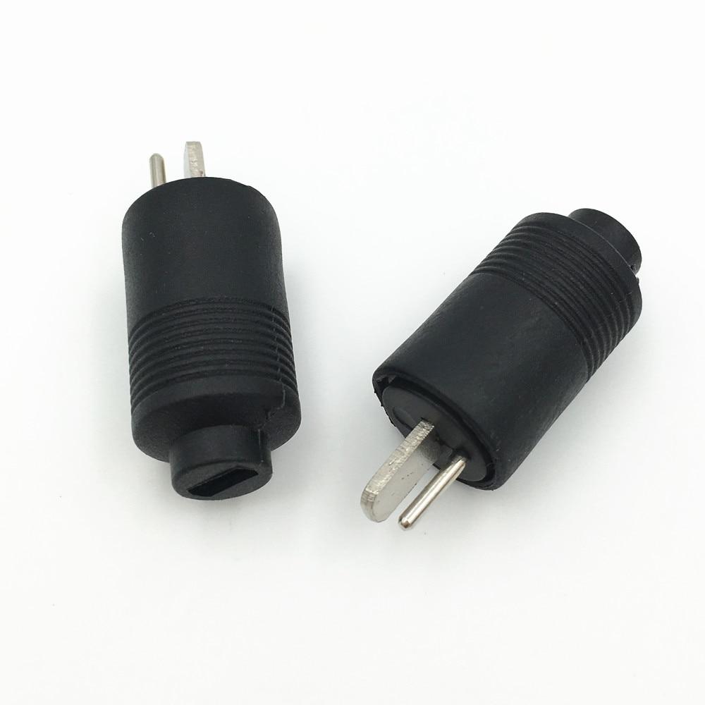 10 Stks 2 Pin DIN Man Speaker Plug 2 Pin Plug Hifi Luidspreker ...