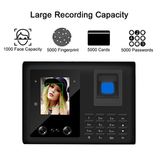 Eseye Face Recognition Time Attendant Fingerprint Attendant System TCPIP/USB Fingerprint Access Control Recorder Employee k201 fingerprint control board