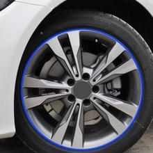 Accesorios de coche borde cinta etiqueta engomada para Peugeot 308, 206, 307, 207, 407, 2008, 508, 208 Citroen C5 C3 Opel Astra j h Insignia 2019