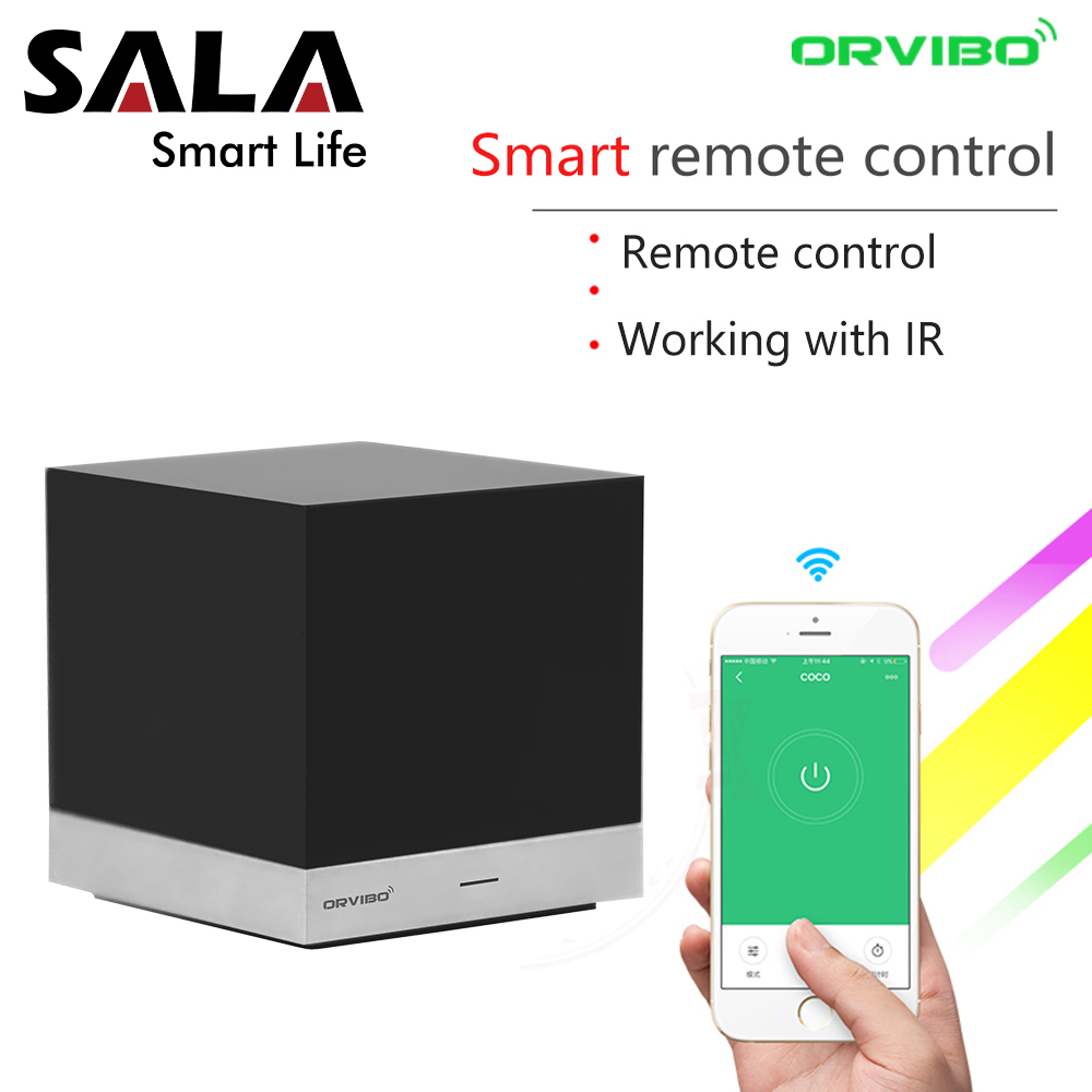 Orvibo Xiaofang Smart Remote Control Automation Systems WiFi IR Controller Hub by iOS Smartphone Android with Alexa Google Home цена и фото