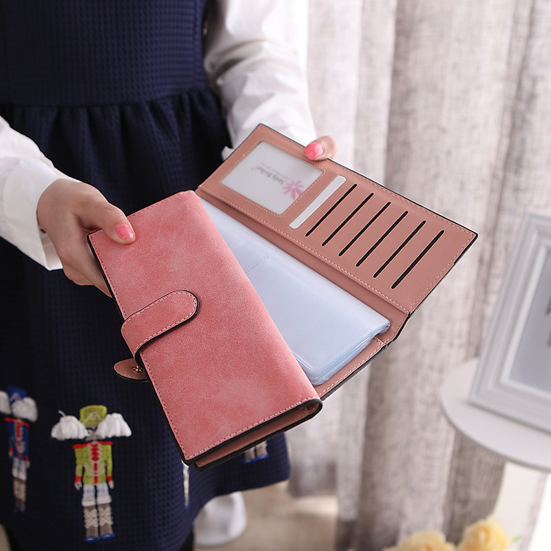 Fashion Leather Large Capacity 55 Card Bit Business Card Holder Credit Card Cover Men And Women 10 Colors Card & ID Wallet Bag large capacity card id holders genuine leather package cluch bag new men s leather wallet fashion leisure leather wallet