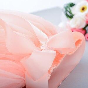 Image 5 - Рождественские фатиновые юбки для девочек, длинные юбки пачки принцессы с эластичным поясом, шифоновое детское бальное платье, одежда для девочек, детская одежда