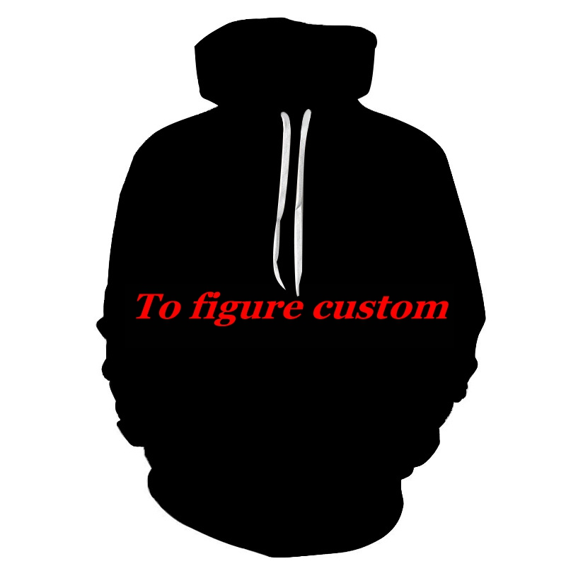 2019 Private custom 3D Printed Hoodies Men Fashion Trend Sweatshirts hoodie xxxtentacion To figure custom unique Men tops Drop