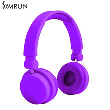 Symrun New Mp3 Player 3.5Mm  Wired Headset Headphones For Xiaomi Headphone Laptop Pc Stereo Headset