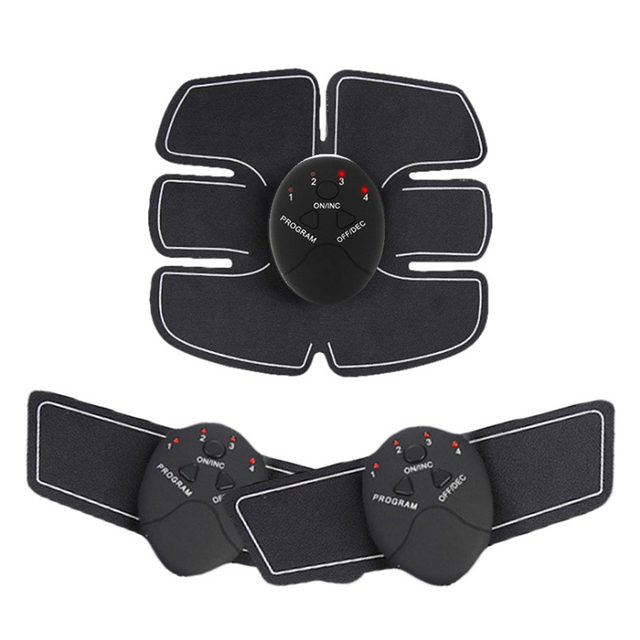 Wireless Electric muscle stimulator Abdominal machine ABS ems Trainer fitness Weight loss Body beauty slimming Massage  1