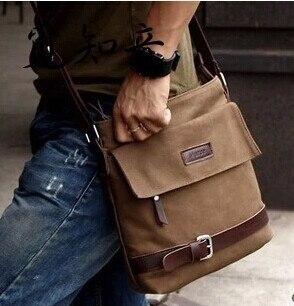 Nieuwe 2019 De Gecontracteerde Heren Leisure Tas Schoudertas Met Reizen Canvas Materiaal Mannen Messenger Bags Betrouwbare Prestaties