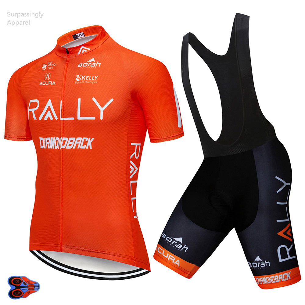 2019 Pro Uci Cycling Jersey Orange Summer Cycling Clothing Breathable Short Sleeve Bicycle Shirt Sportswear Ropa Ciclismo 9d P Ideal Gift For All Occasions