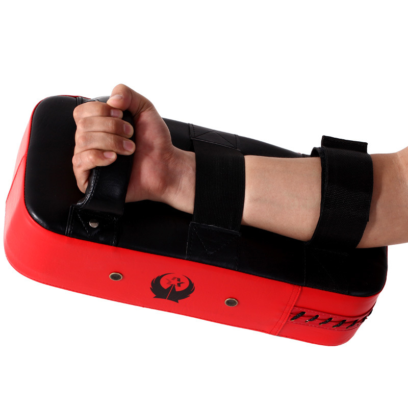 High quality PU Thicken Sanda Foot Target Tae Kwon Do Training Baffle Widening And Thickening MMA Boxing Hand Leg Target