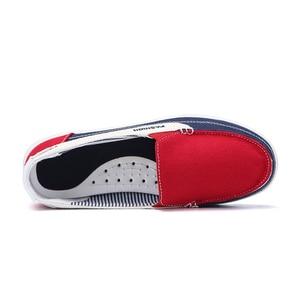 Image 4 - STQ 2020 חורף נשים בד סניקרס לאישה להחליק על מוקסינים נעלי נשים דירות טניס נעלי גבירותיי שטוח להחליק על סניקרס 987