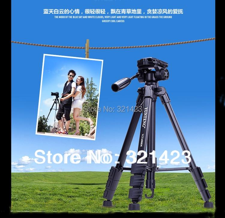 VCT-690 Nuevo equipo fotográfico Yunteng Aluminio trípode flexible - Cámara y foto - foto 3