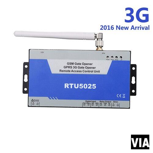 RTU5025 3G Free Shipping GSM Garage Opener Wireles.