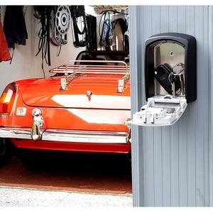 Image 2 - Master Lock กุญแจรถปลอดภัยกล่อง Wall Mount รหัสผ่านล็อคโลหะโรงรถโรงรถกลางแจ้งกล่องเก็บความปลอดภัยตู้นิรภัย