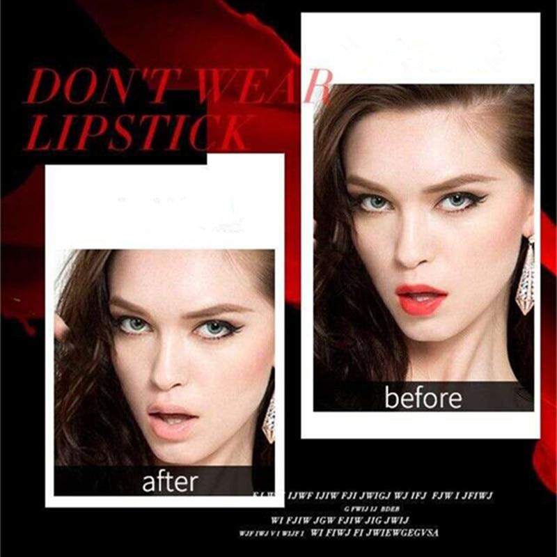Beauty Matte Lipstick Long Lasting Cosmetics Maquiagem Women Makeup Red Batom Pigments Waterproof Lip Stick Pintalabios Mate 17