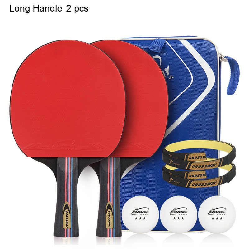 Crossway 1100 Table Tennis Paddle 2 pcs/set Ping Pong Paddle Racket And Pingpong Ball Set